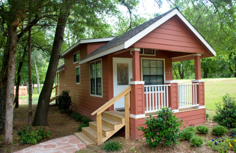 Beau Cabin Exterior At Mill Creek Ranch Resort.