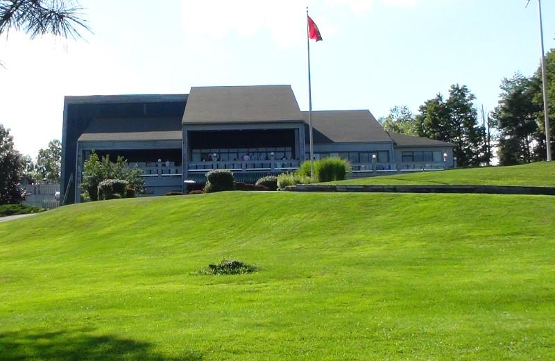 Golf course at Villa Roma Resort.