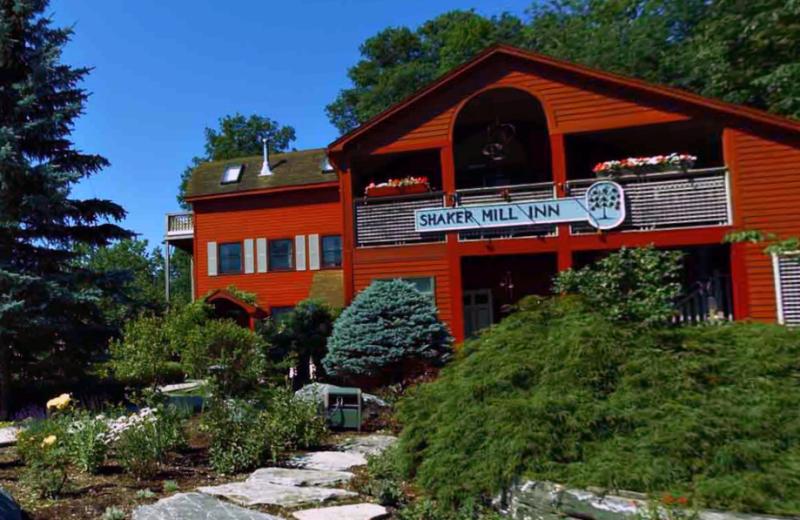 Exterior view of Shaker Mill Inn.