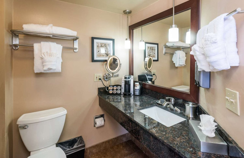 Guest bathroom at Best Western Plus Inn of Sedona.
