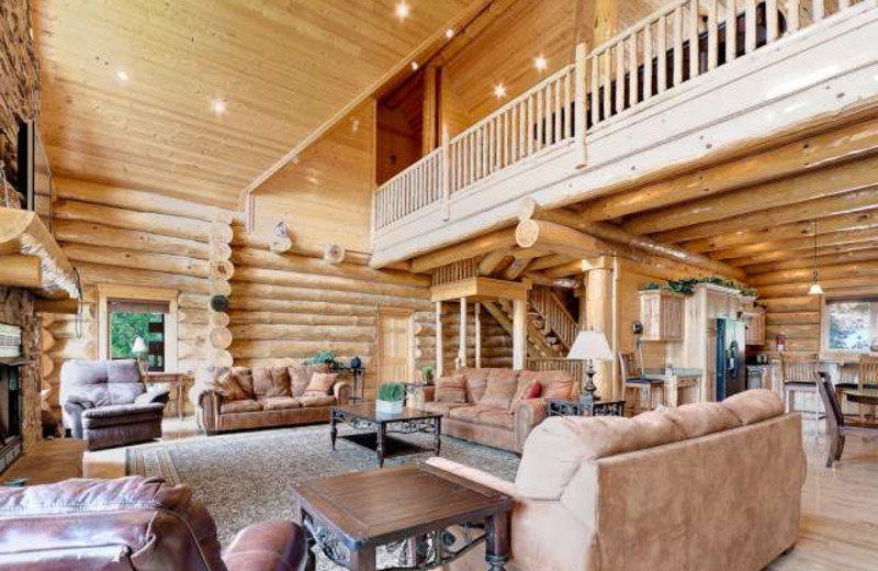 Vacation rental interior at Stony Brook Chalets.