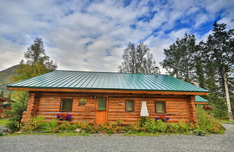 Cabin at Alaska Heavenly Lodge.