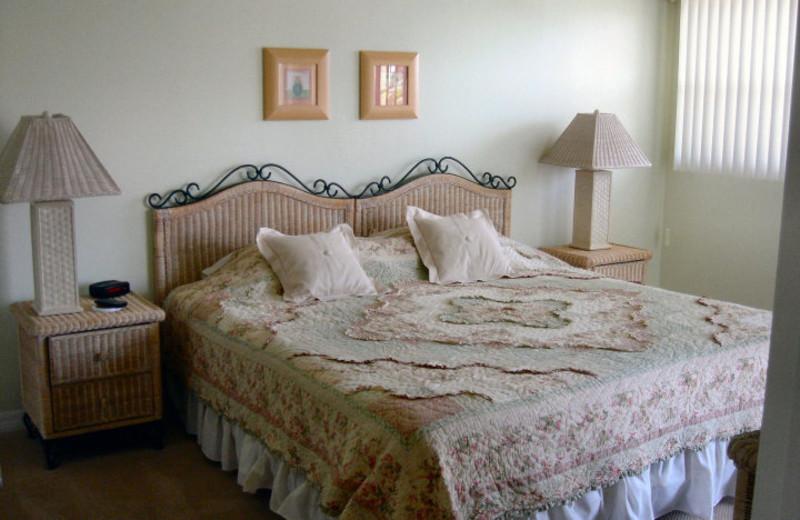 Rental bedroom at Liberte Management Group.