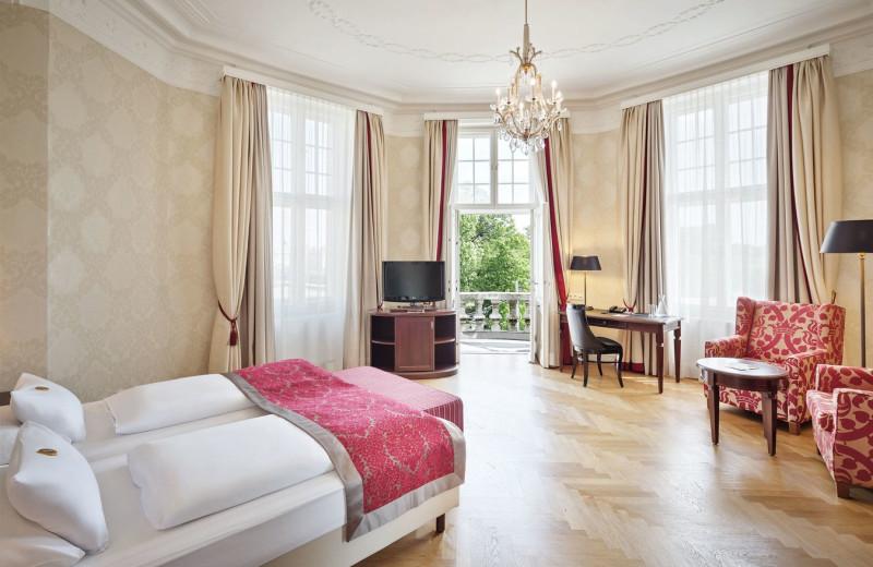 Guest room at Parkhotel Schönbrunn.
