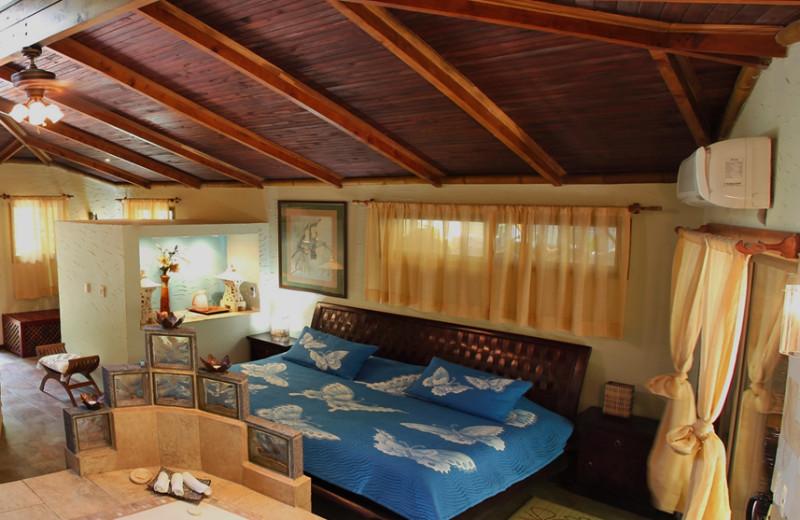 Guest room at Cascadas Farallas Waterfall Villas.