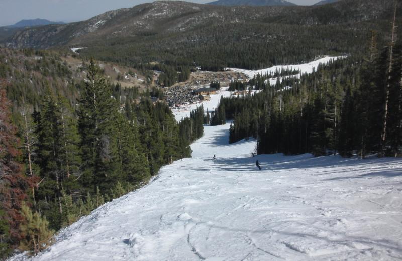 Skiing at SkyRun Vacation Rentals - Nederland, Colorado.