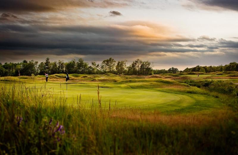 Golf course at Lakewood Shores Resort.