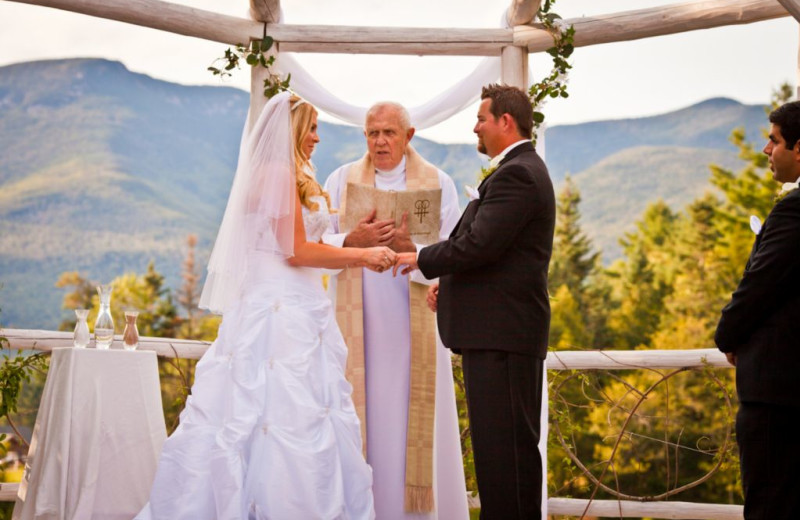 Weddings at Waterville Valley Resort.