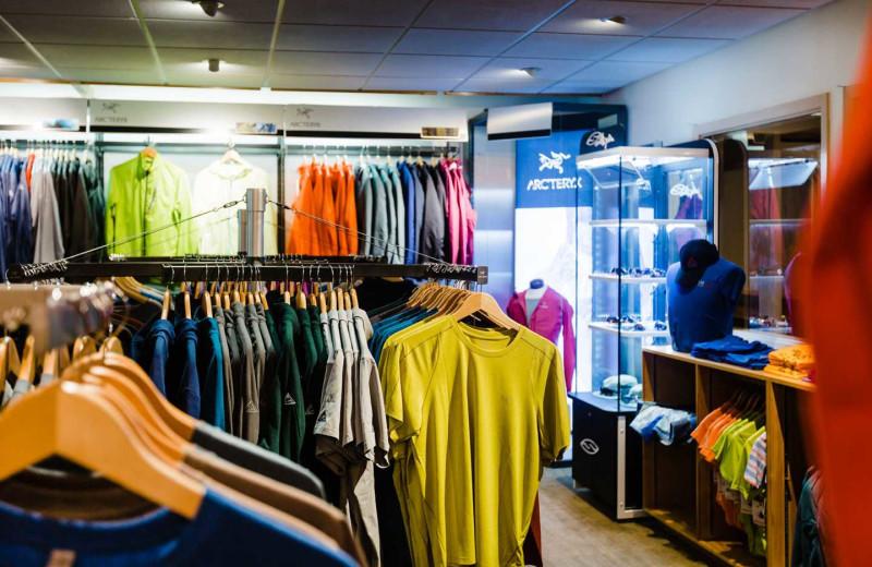 Shop at CMH Bugaboos Lodge.