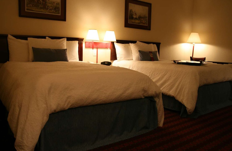 Guest room at Hampton Inn Jefferson City at Capital Mall.