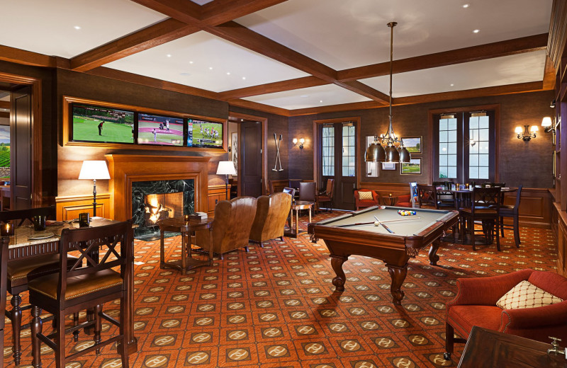 Game room Salamander Resort & Spa.