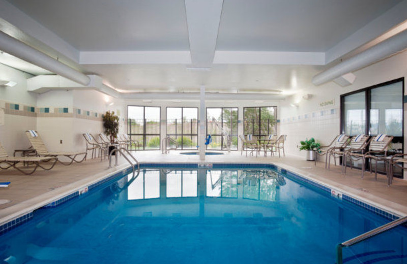 Indoor pool at Courtyard Missoula.