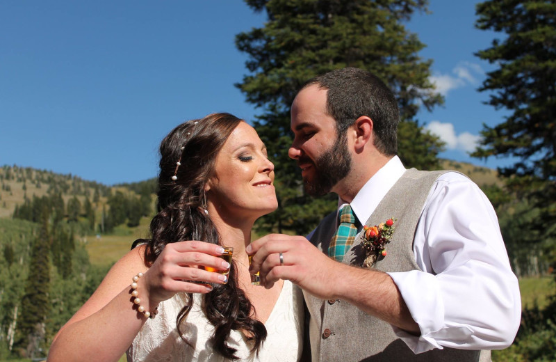 Wedding at Grand Targhee Resort.