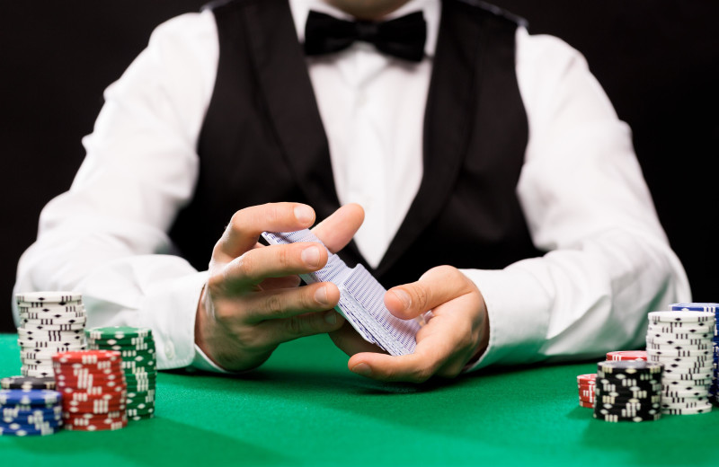 Poker at Del Lago Resort & Casino.