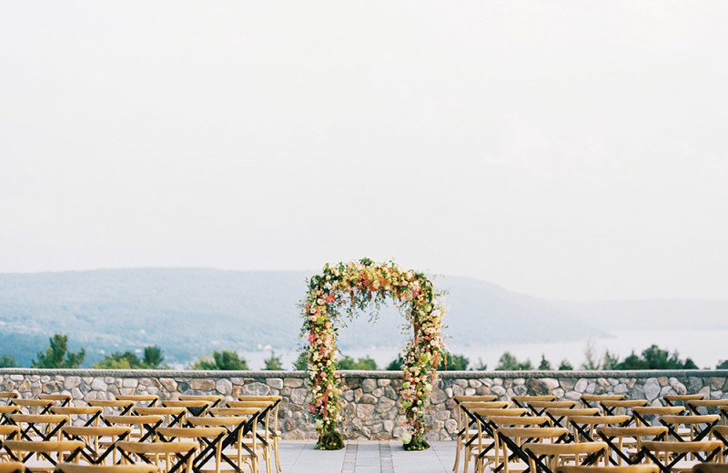 Weddings at Bristol Harbour Resort on Canandaigua Lake.