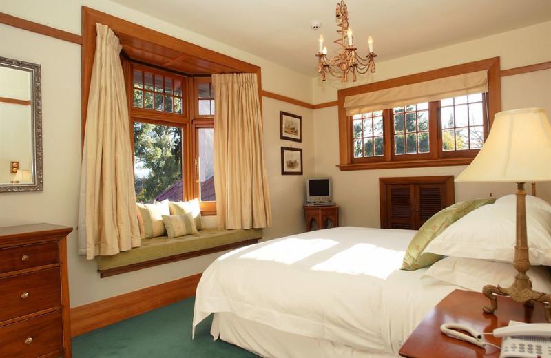 Guest room at Timara Lodge.