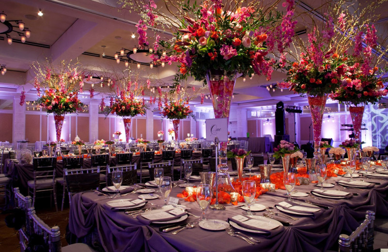 Wedding reception at Omni Barton Creek Resort & Spa.