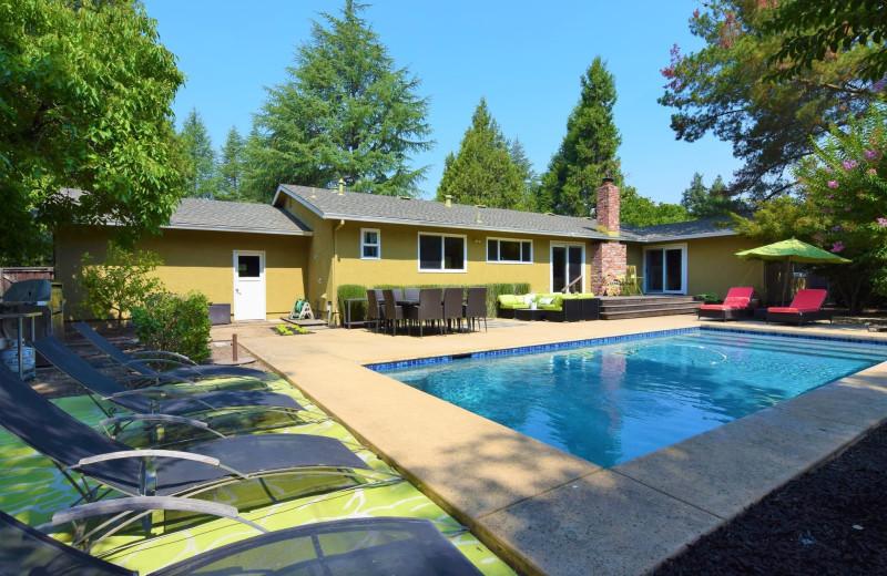 Rental pool at Woodfield Properties.