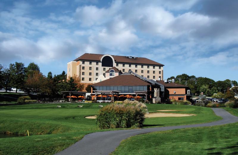 Resort view at Heritage Hills Golf Resort.