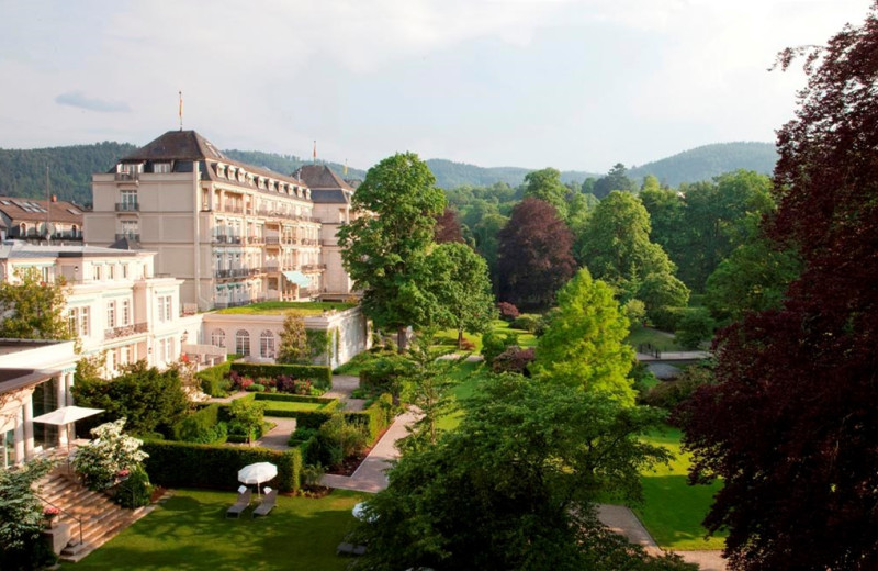 Exterior view of Brenner's Park – Hotel & Spa.