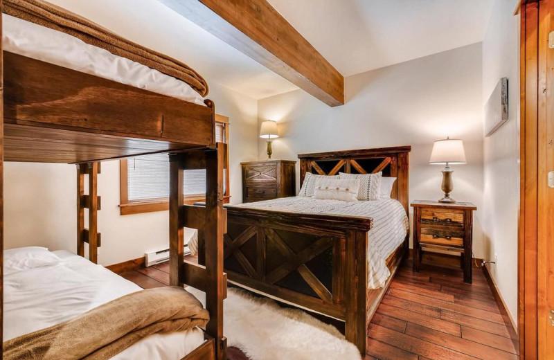 Rental bedroom at Nomadness Rentals.