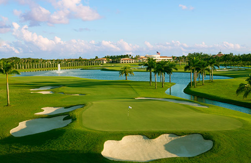 Golf course at Trump National Doral Miami.