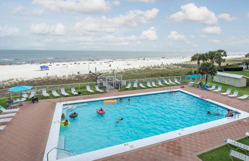 Rental pool at Coastal Properties.