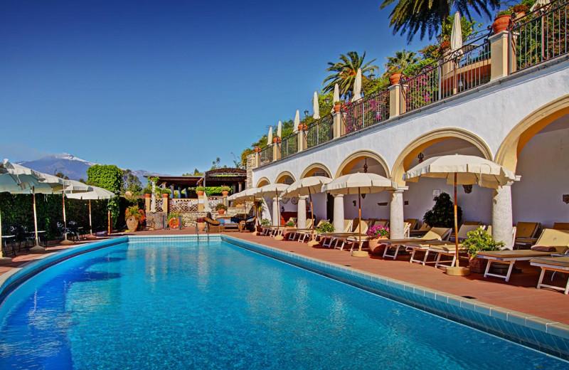 Outdoor pool at San Domenico Palace.