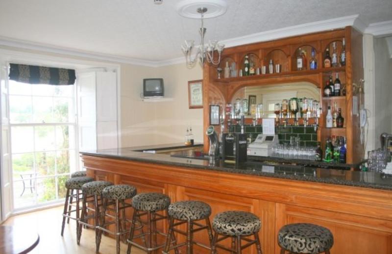 Bar at Knocklofty House.