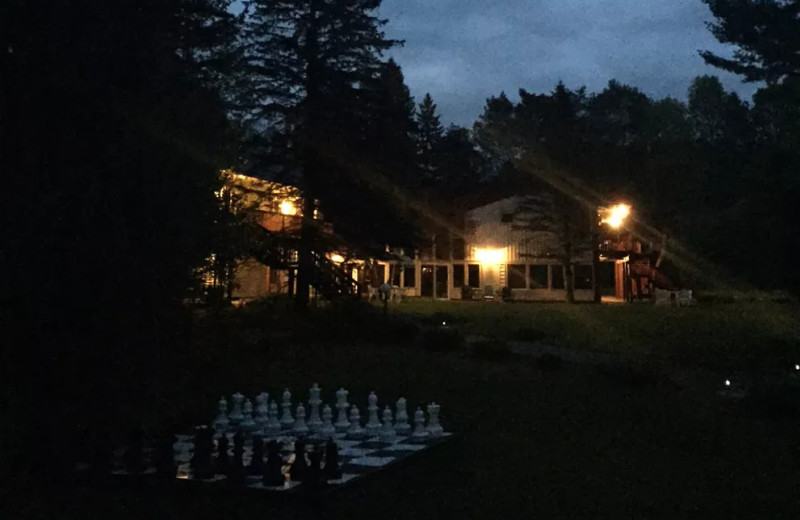 Night view of The Baldwins Resort.