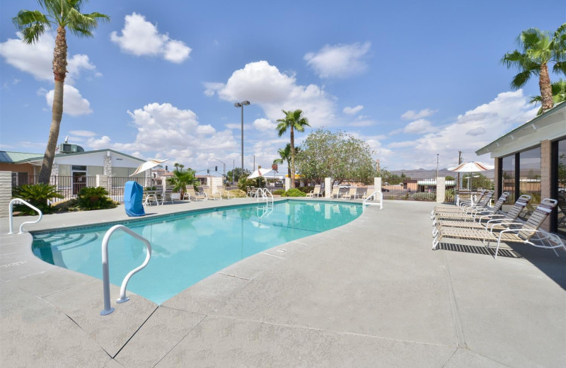Outdoor pool at Best Western Plus King's Inn & Suites.