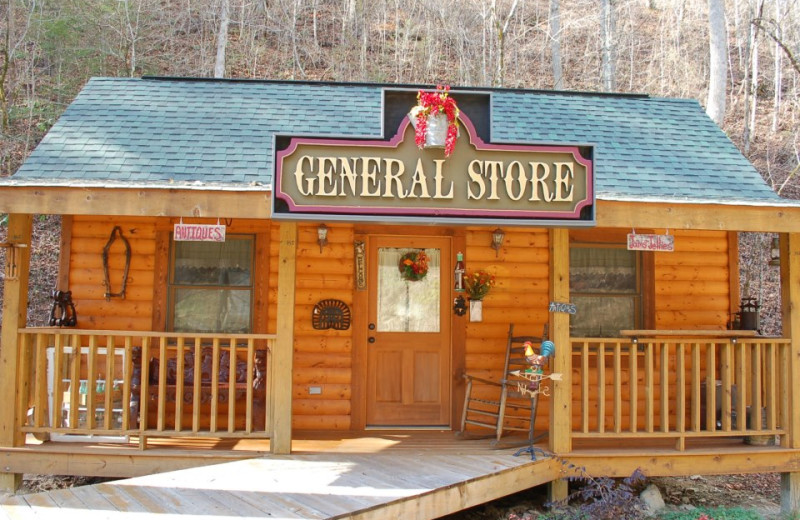 Gift store at Little Valley Mountain Resort.