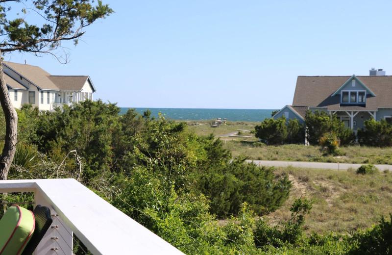 Rental view at Mary Munroe Realty: Bald Head Vacations & Sales.