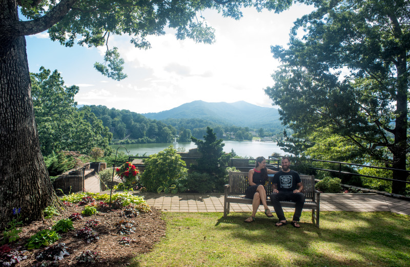 The view from Inspiration Point, which overlooks Lake Junaluska, is spectacular!