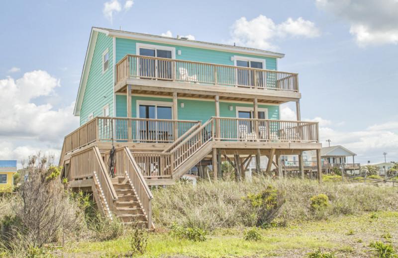 Rental exterior at Oak Island Accomodations.