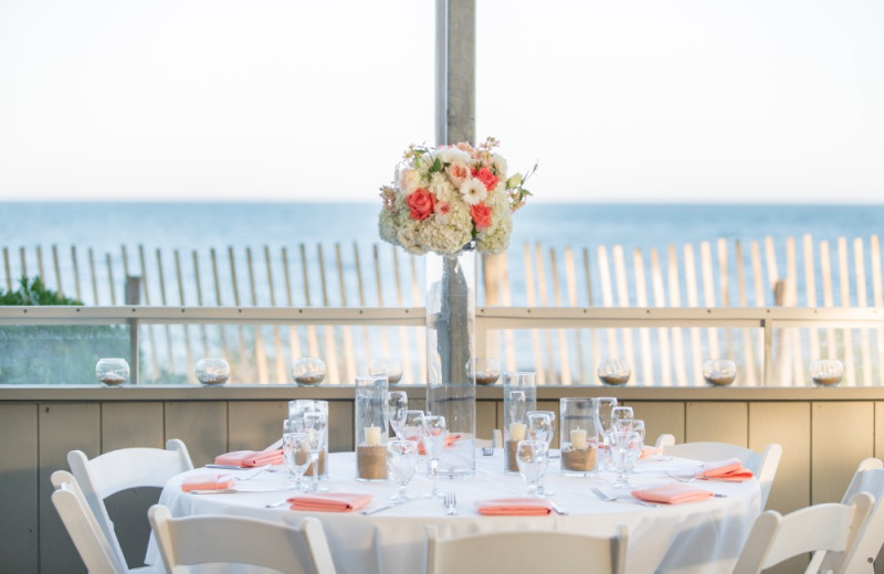 Wedding reception at New Seabury Resort.