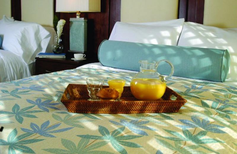 Room service at Hilton Suites Ocean City Oceanfront.