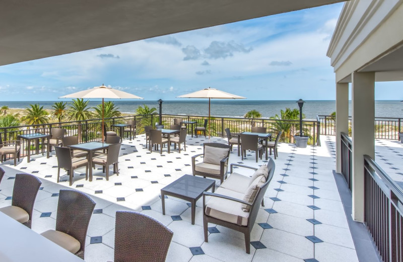 Patio at Westin Jekyll Island