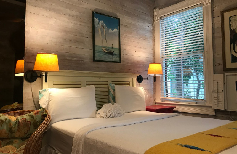 Guest room at Key West Bed & Breakfast.