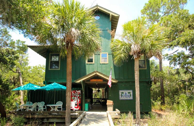 Activities building at Fripp Island Golf & Beach Resort.