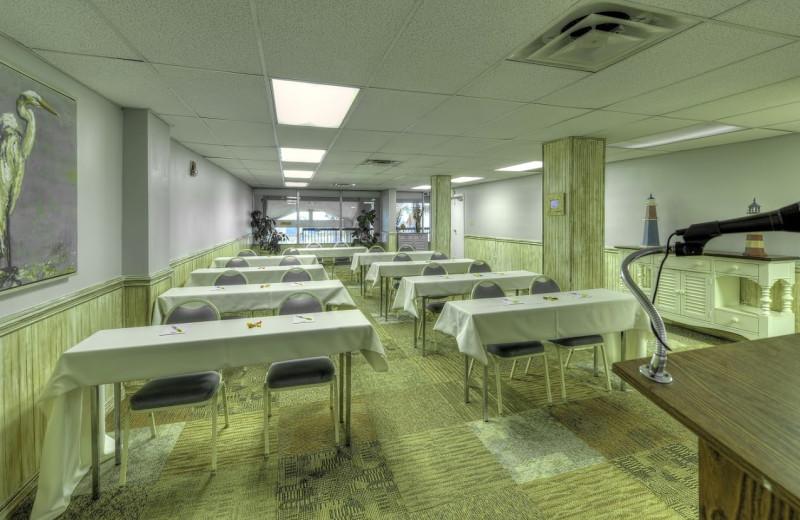Meeting room at Days Inn & Suites Jekyll Island.