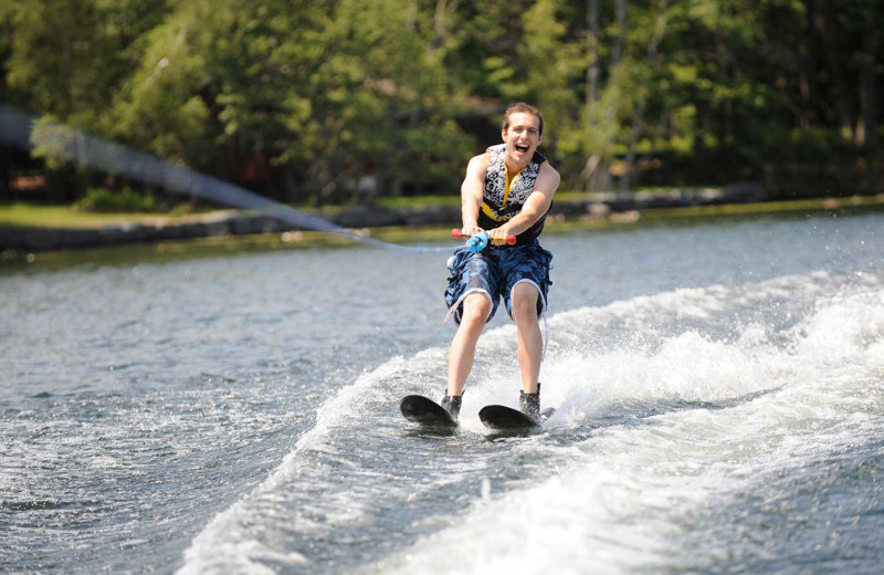 Water ski at Woodloch Resort.