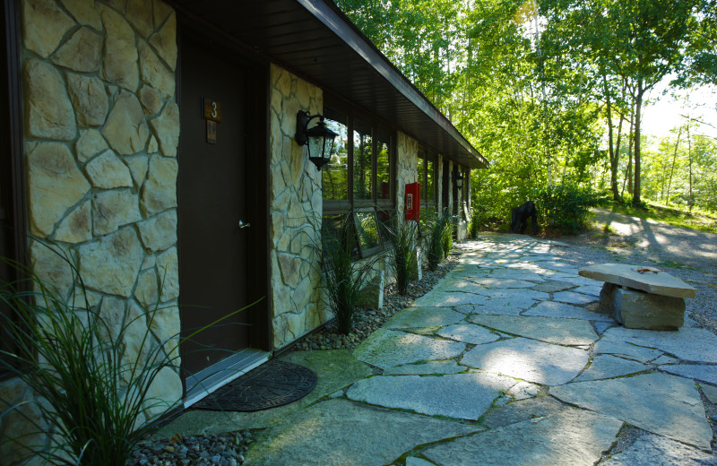 Exterior view of Footprints Resort.