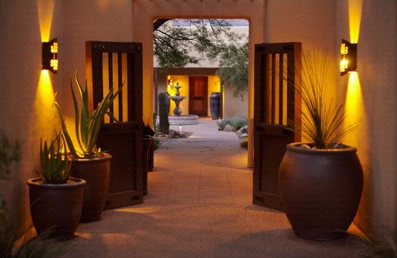 Casita Village Entrance at Miraval