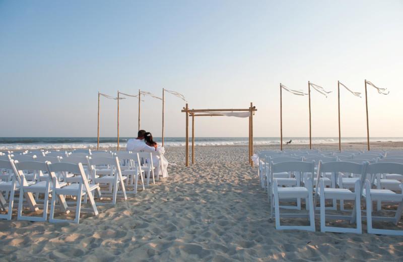 Beach wedding at The Winds Resort Beach Club.