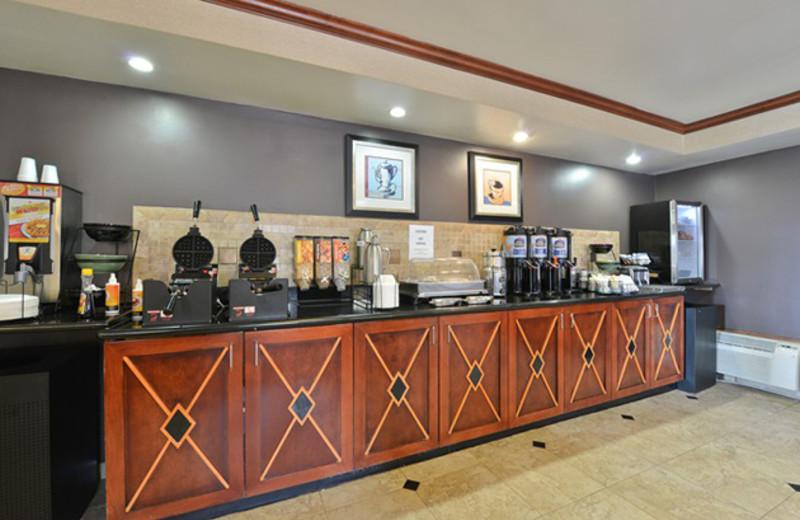 Breakfast Room at Best Western Historic Frederick