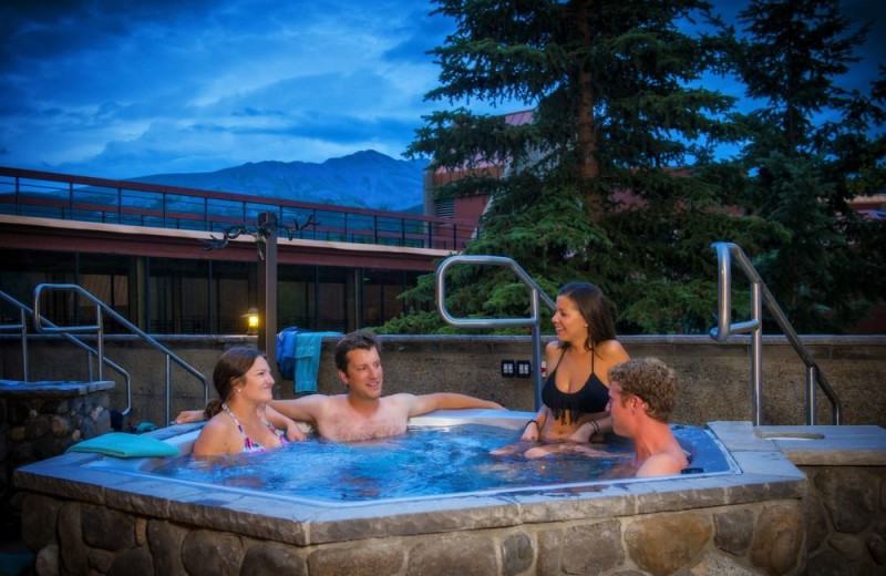 Hot tub at Beaver Run Resort & Conference Center.