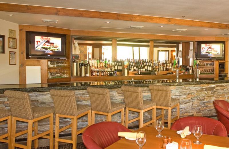 The bar at The Lodge at Ventana Canyon.
