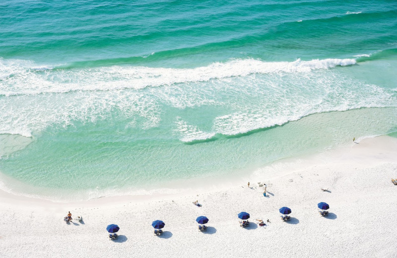 The beach at Sandestin Golf Resort.