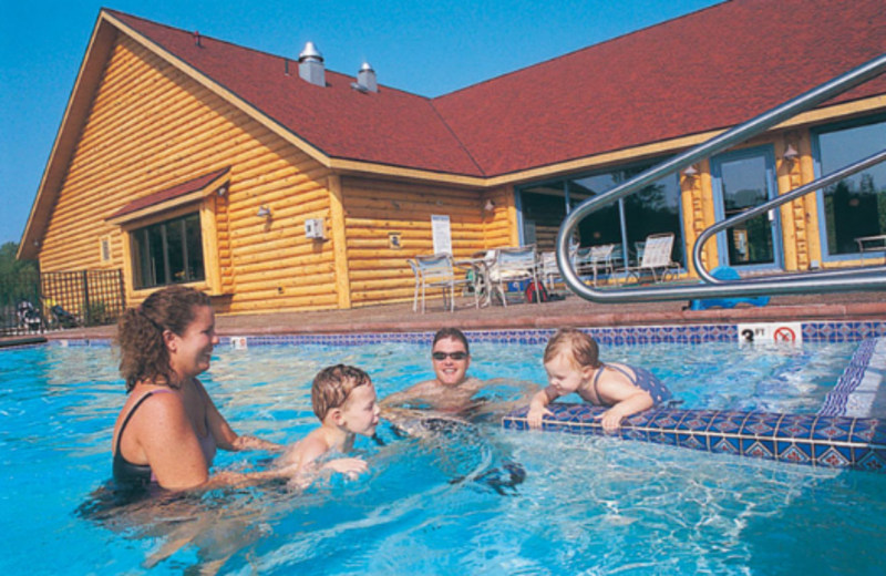 Outdoor Pool at Little Sweden Vacation Resort